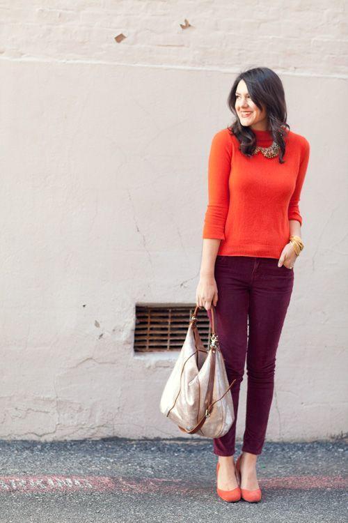 10. Looks coloridos_como combinar peças coloridas_como usar combinação de cores_colored outfits_10