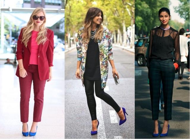 10_Look com sapato azul_como usar sapato azul_look do dia