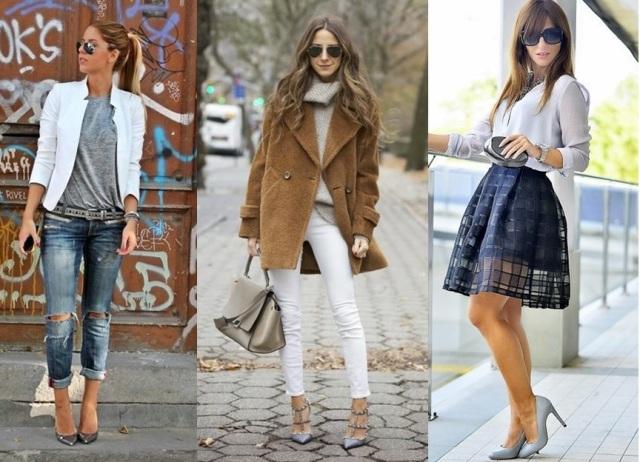 15_Look com sapato cinza_como usar sapato cinza_look do dia