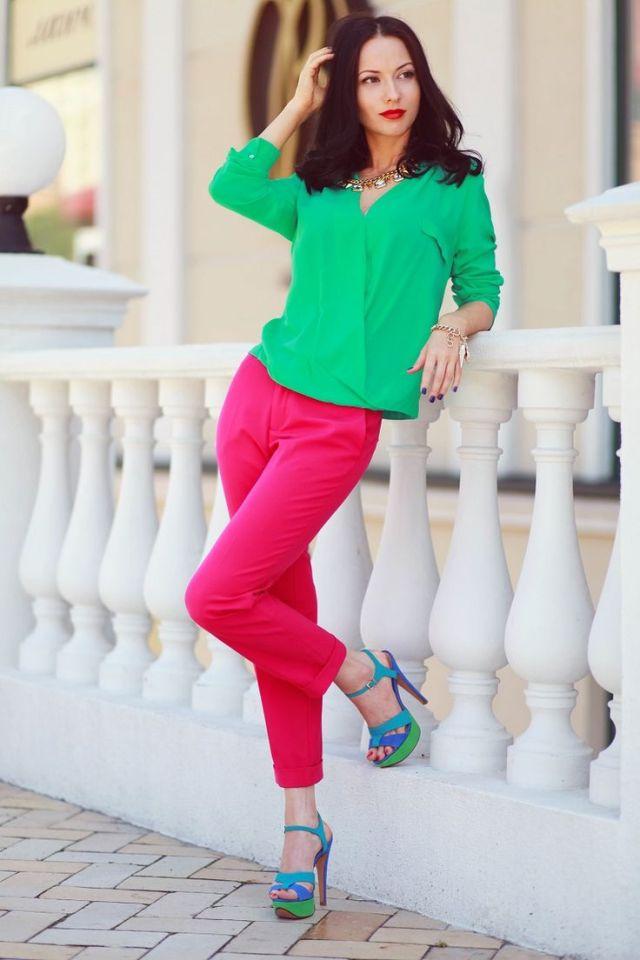 16. Looks coloridos_como combinar peças coloridas_como usar combinação de cores_colored outfits_18
