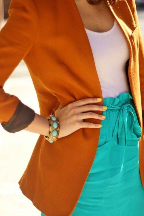 17. Looks coloridos_como combinar peças coloridas_como usar combinação de cores_colored outfits_3